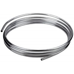 Труба Remer d12мм*5,0м  в бухте RR111 хромированная медь