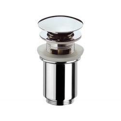 """Донный клапан Remer RR905CC click-clack 1,1/4"""" с переливом."""