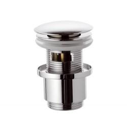 """Донный клапан Remer RR905CC2 click-clack 1,1/4"""" с переливом."""