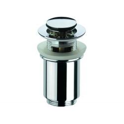 """Донный клапан Remer RR906CC click-clack 1,1/4"""" с переливом."""