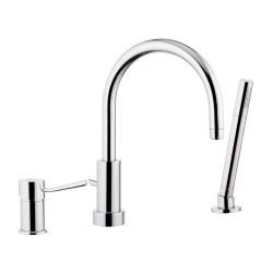 Смеситель для ванны Remer RR N07 набортный Серия Minimal