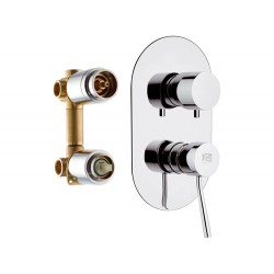 Смеситель для ванны Remer RR N93  встраиваемый Серия Minimal