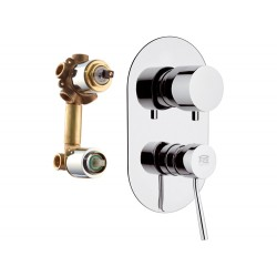 Смеситель для ванны Remer RR N94 встраиваемый Серия Minimal