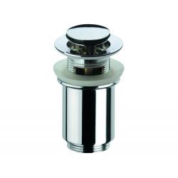 """Донный клапан Remer RR906CC2 click-clack 1,1/4"""" с переливом, короткий стакан"""