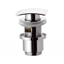 """Донный клапан Remer RR904SCC2 click-clack 1,1/4""""  короткий стакан"""