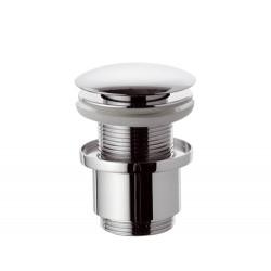 """Донный клапан Remer RR904CC2 click-clack 1,1/4"""" короткий стакан"""